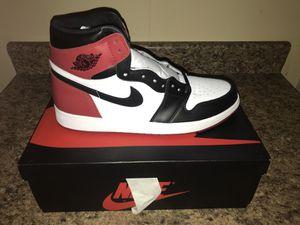 Size 12 Jordan 1 Black toe for Sale in Philadelphia, PA