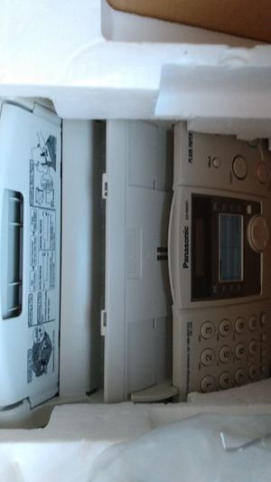 Fax machine panasonic for Sale in Norfolk, VA