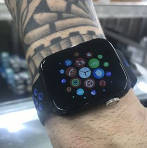 GENERIC SMART WATCH:BLUETOOTH: NO APPLE-IS ANDROID you can use in Android & Apple Compatible. NO APPLE fit apple Accesories. Listening and talking b for Sale in Hialeah, FL