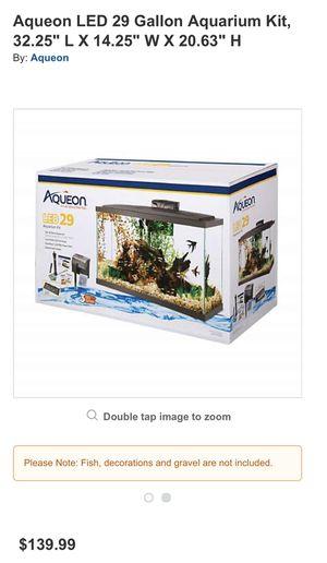 29 Gallon Aquarium Kit for Sale in Denver, CO
