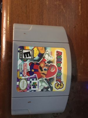 Mario party 3 n64 for Sale in Navarre, OH