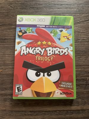 Xbox 360 Angry Birds Trilogy game for Sale in Grayslake, IL