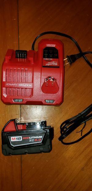 Milwaukee m18 battery for Sale in Lynwood, CA