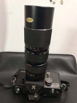 Sears TLS Film Camera & 85mm-205mm Lens for Sale in MD, US