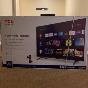 55 Inch TCL Smart Tv for Sale in Worcester, MA