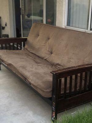 Futon couch for Sale in Hemet, CA