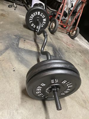 weider and BCFO brand weights for Sale in Pittsburg, CA