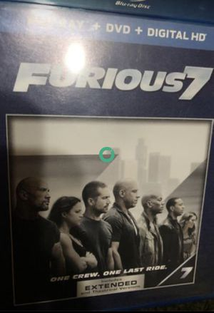 Blu ray- FURIOUS 7 for Sale in Tamarac, FL