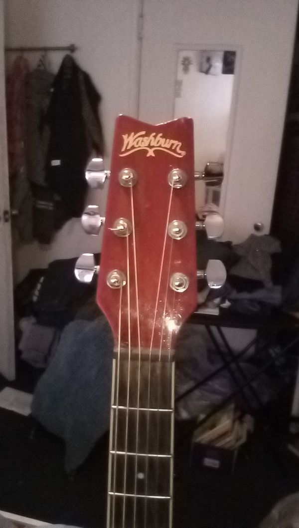 Washburn acustic guitar