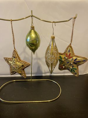 Assorted Tree Ornaments (set of 4) for Sale in San Bruno, CA