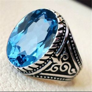 *NEW ARRIVAL* Beautiful Round Blue Topaz Ring Sizes 6 - 10 *See My Other 500 Items* for Sale in Palm Beach Gardens, FL