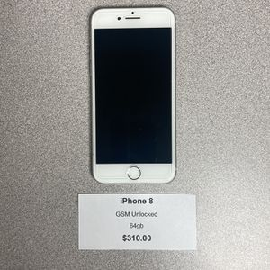IPhone 8 GSM Unlocked 64gb for Sale in Harrison City, PA
