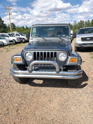 2001 jeep wrangler for Sale in Overgaard, AZ