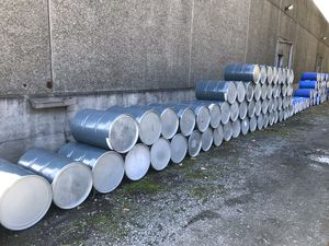 55 gallon metal barrels for Sale in Maple Valley, WA