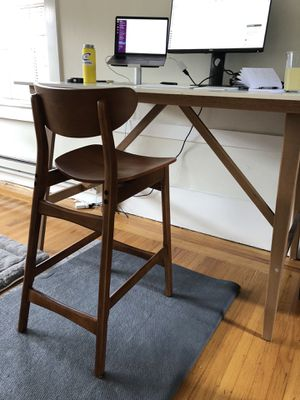 West Elm Classic Cafe Bar Stool, Walnut for Sale in Piedmont, CA