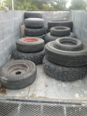 Different assortment of tires 20 dollar each come get it for Sale in Las Vegas, NV