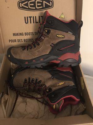 KEEN Utility Pittsburgh 9 wide Steel Toe Hike / work boot for Sale in Harvard, MA