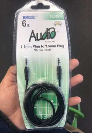 6ft Audio Aux for Sale in Houston, TX