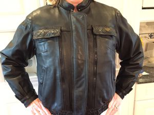 Leather Motorcycle Jacket for Sale in Arlington Heights, IL