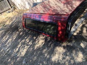 Camper shell for a 2000 Chevy Silverado short bed for Sale in Sacramento, CA