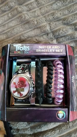 Troll Doll Watch/ Bracelet Set for Sale in Snohomish, WA