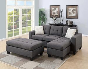Veterans Day sale!!!! Sectional with ottoman for Sale in Phoenix, AZ