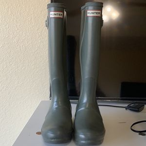 Hunter blue grey Rain Boots for Sale in Austin, TX
