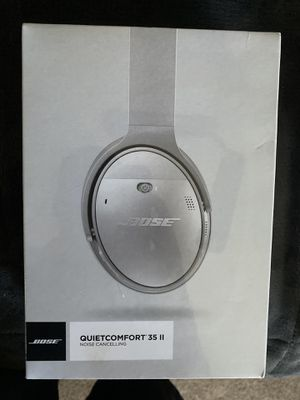 Bose Quietcomfort 35 II Noise Cancelling (Factory Sealed) for Sale in Fresno, CA