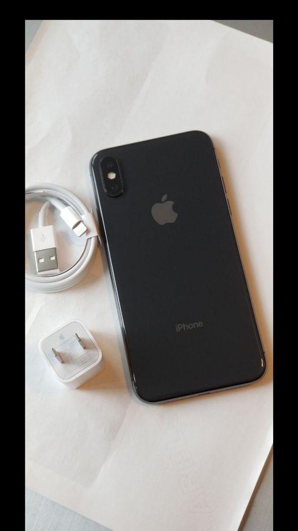 iPhone X, Factory Unlocked