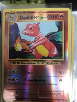 Charmeleon reverse holo evolution for Sale in Prineville,  OR