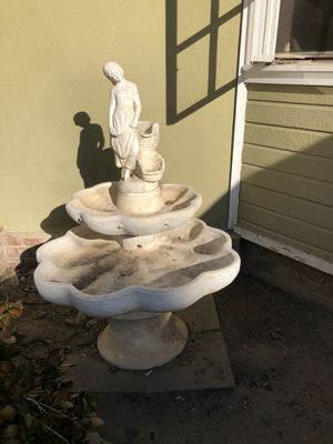 Heavy stone Fountain for Sale in Costa Mesa, CA