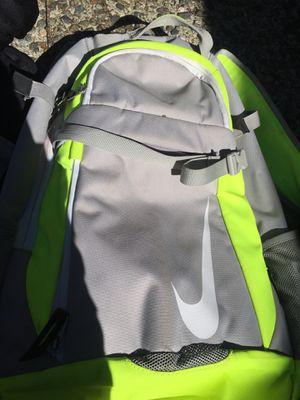Nike Softball Backpack w JR Helmet, 2 Belts, Glove and 2 pants for Sale in Bellevue, WA