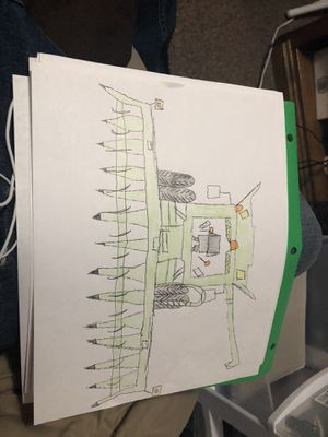 Combine drawing for Sale in Minot, ND