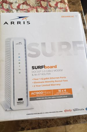 Arris SBG6900-AC Surfboard Modem Router for Sale in Phoenix, AZ