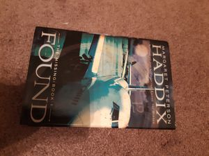 Found by Margaret Peterson Haddix signed for Sale in Wabash, IN