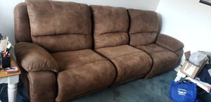 Leather Sofa for Sale in Bellflower, CA