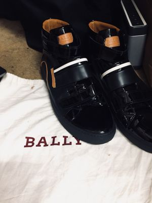 Bally men 12 US high tops for Sale in San Francisco, CA
