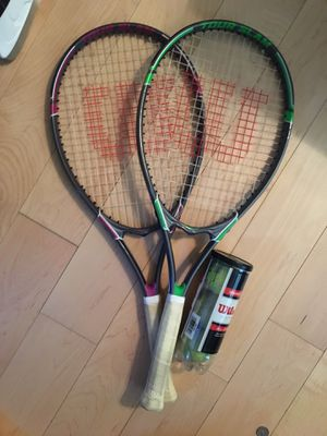 Tennis racket set for Sale in Yonkers, NY