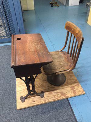 Antique child's school desk. for Sale in Castro Valley, CA