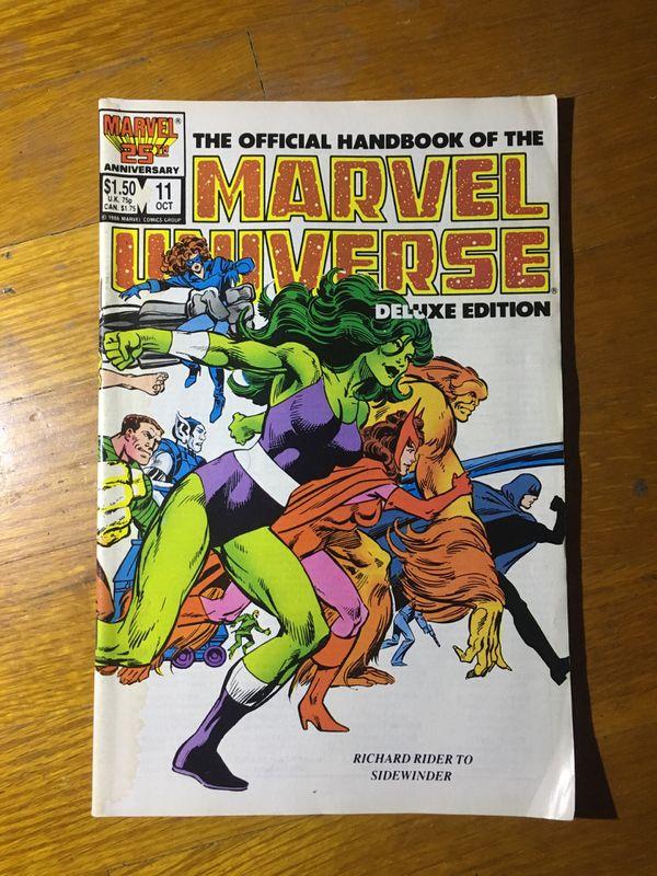 Vintage, retro Marvel comic book