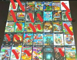 TONS Of Nintendo GAMECUBE Games For $$$ (READ the DESCRIPTION PPL) for Sale in Riverside, CA