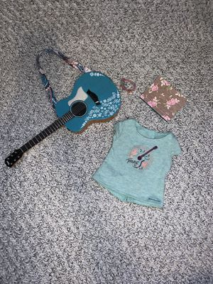 American Girl Tenneys Guitar Set and Launch shirt for Sale in Miami, FL