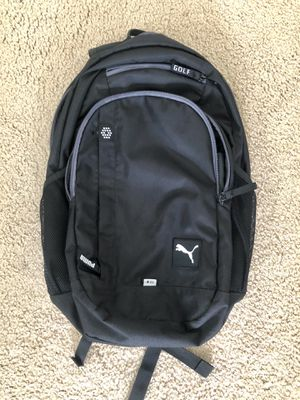 Puma Golf Backpack - VERY lightly used. for Sale in Solana Beach, CA