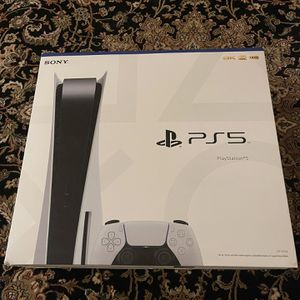 PS5 Disc Edition - White - Brand New for Sale in San Gabriel, CA