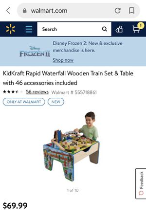 Brand NEW KidKraft: rapid waterfall wooden train set the table for Sale in Apache Junction, AZ