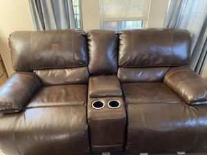 Double Reclining Sofa and Double Reclining Loveseat for Sale in Carlsbad, CA