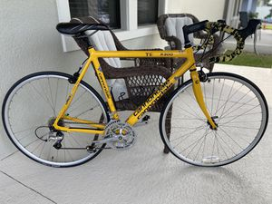 🚲 Road bike Cannondale Conte Aluminum 700 23c, high quality, 24 Speed Shimano, very light 🚲 for Sale in Winter Garden, FL