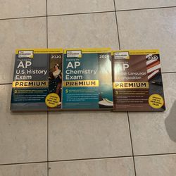 Three AP exam books NEW for Sale in Spencerport,  NY