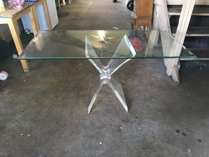 Glass table for Sale in Sanford, FL