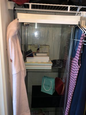 IKEA clear storage shelves for Sale in Miami, FL